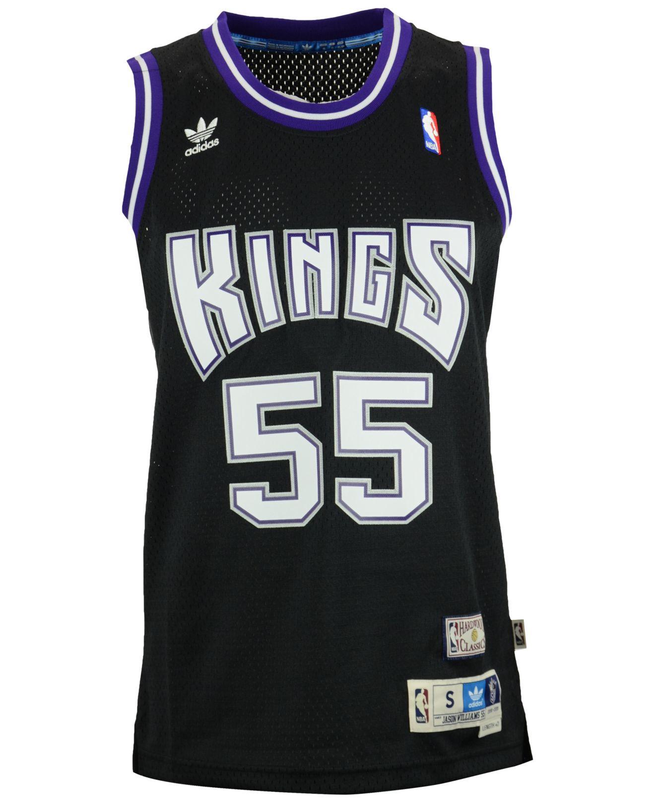aa00d111f Lyst - adidas Men s Jason Williams Sacramento Kings Swingman Jersey ...