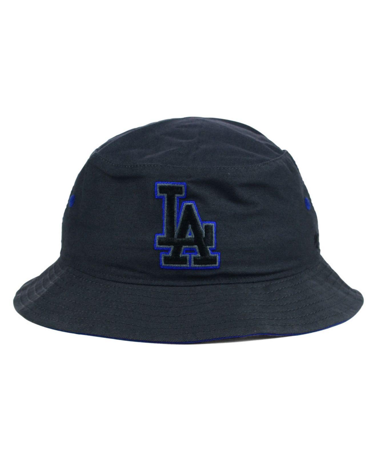 93d31957dc3 Lyst - 47 Brand Los Angeles Dodgers Turbo Bucket Hat in Gray