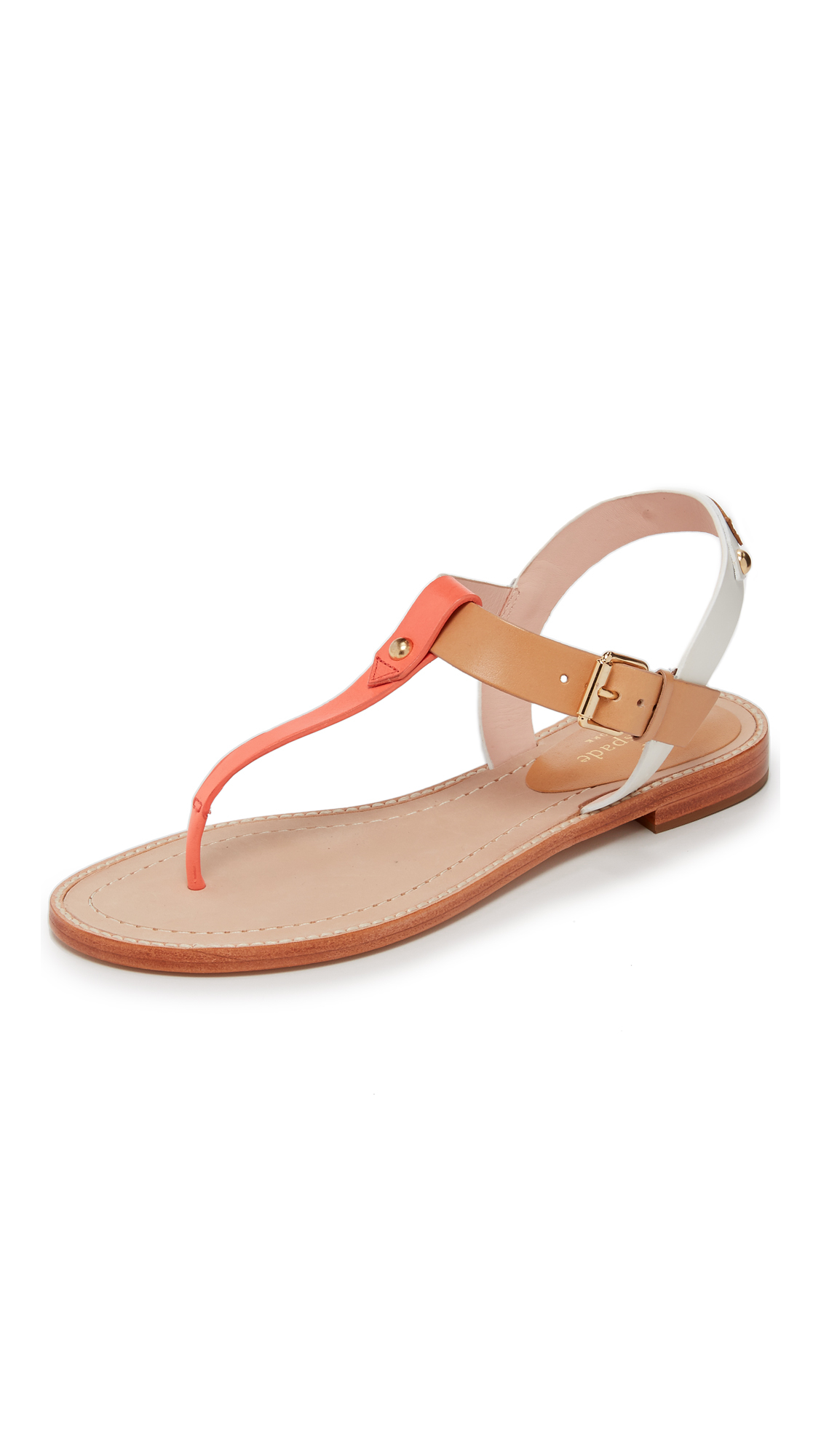 Lyst Kate Spade Sky Thong Sandals In Orange
