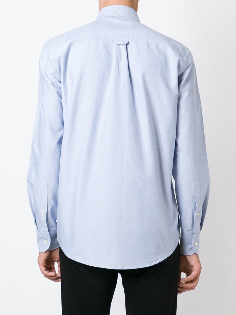 Our Legacy Button Down Collar Shirt In Blue For Men Lyst