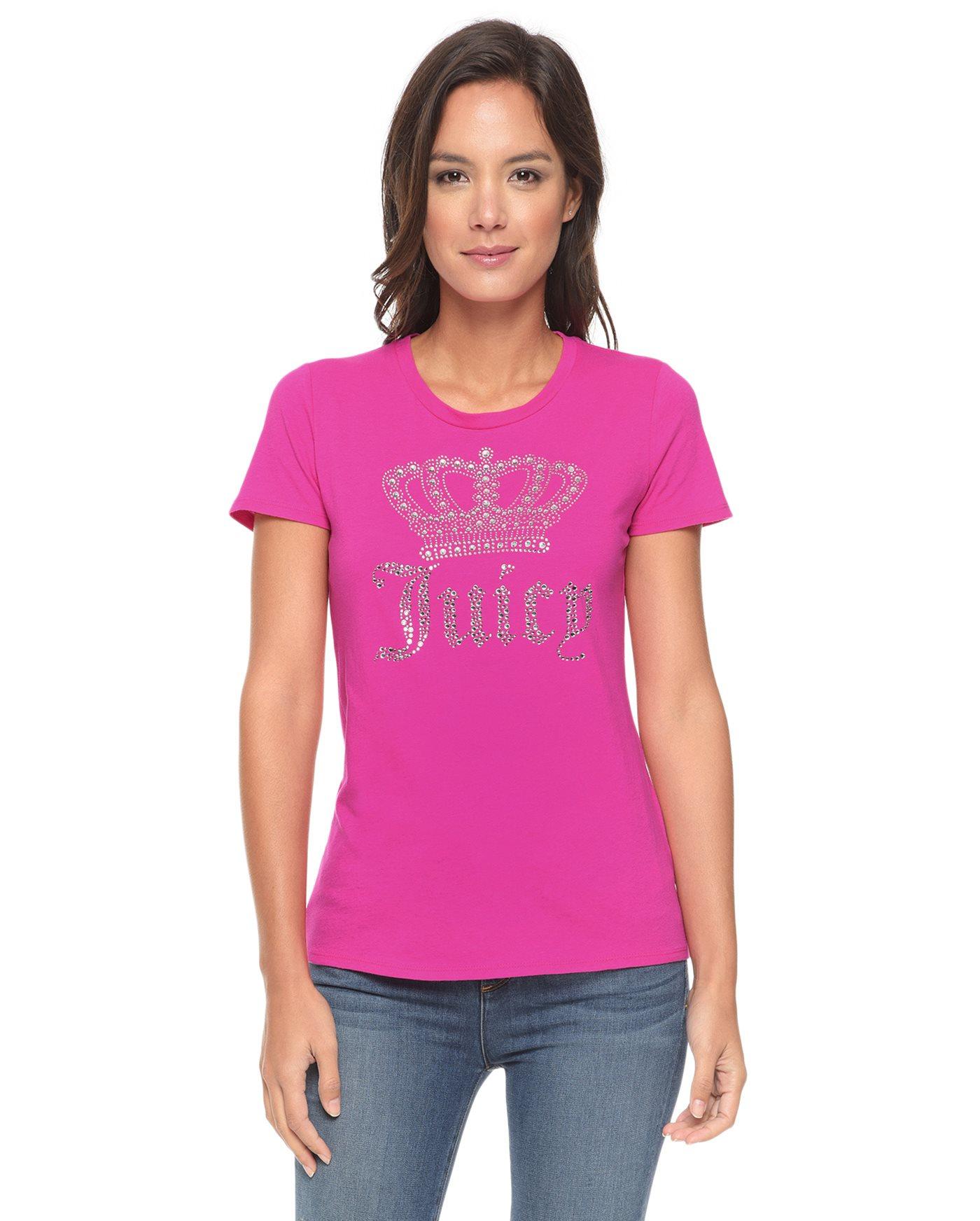 Juicy couture Logo Juicy Crown Short Sleeve Tee in Pink ...Juicy Couture Crown Tattoo