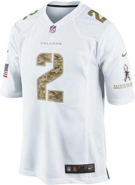 Nike Matt Ryan Atlanta Falcons Jersey in Green for Men (White/Camo
