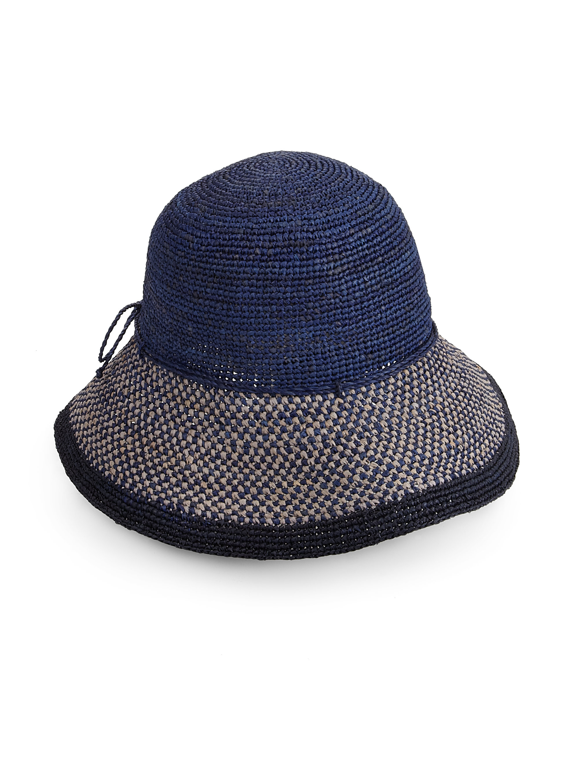 df19b547e Helen Kaminski Blue Provence 10 Raffia Sun Hat