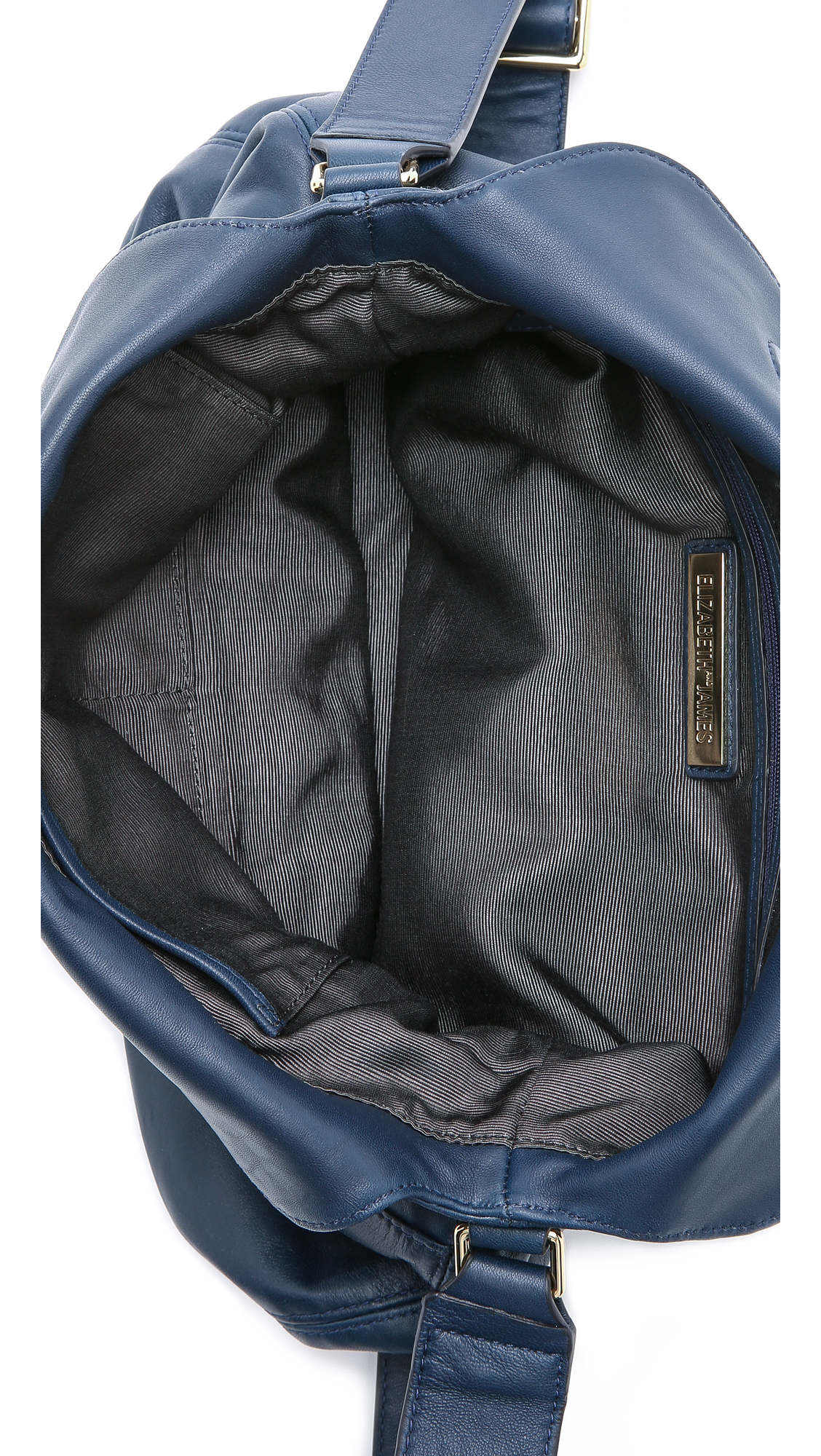 Elizabeth and James James Cross Body Hobo Bag - Navy in Blue