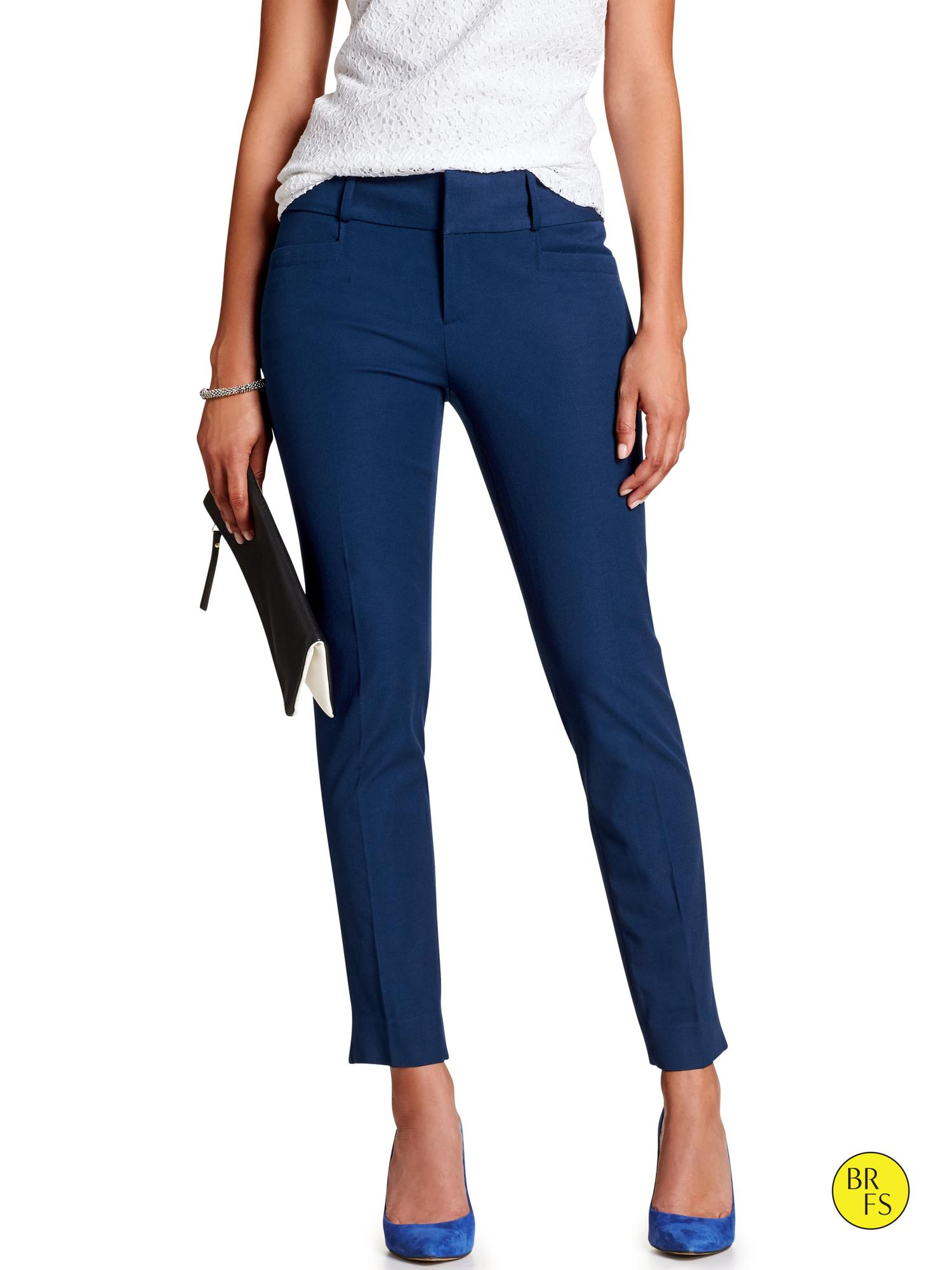 Banana republic Factory Jackson fit Slim Ankle Pant in