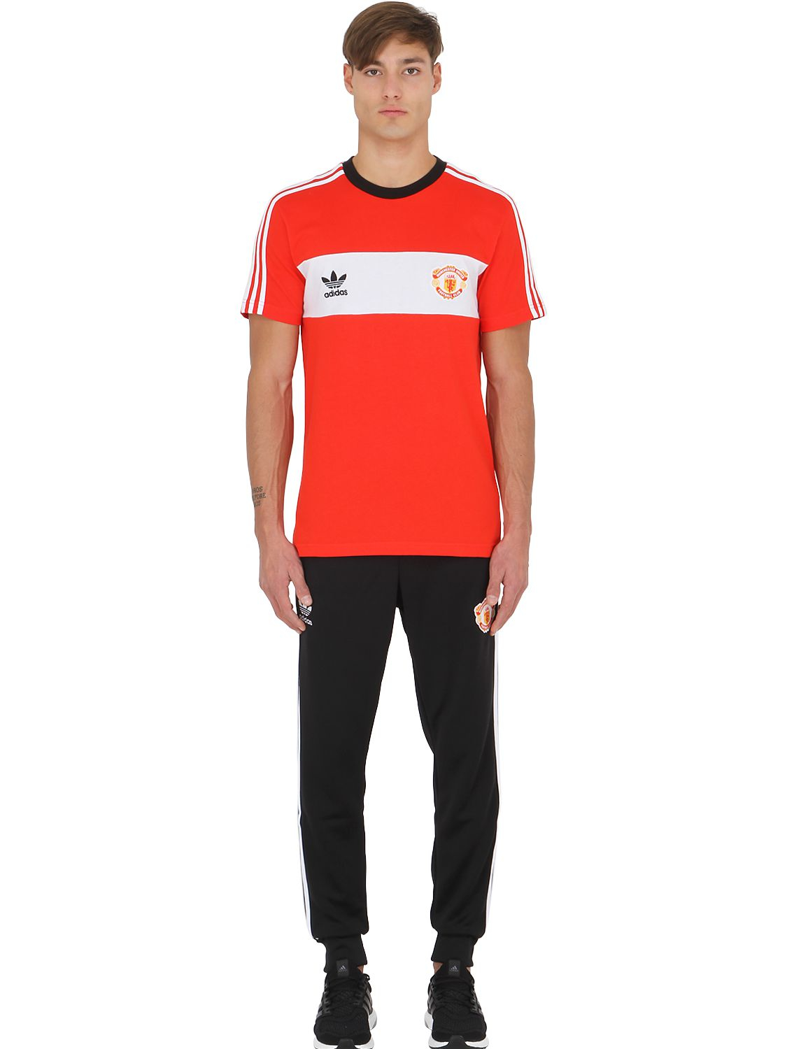 e3558f72e54 adidas Originals Limit.ed Manchester United T-shirt in Red for Men ...