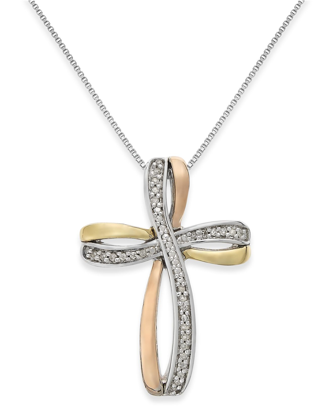 Macy S Diamond Cross Necklace
