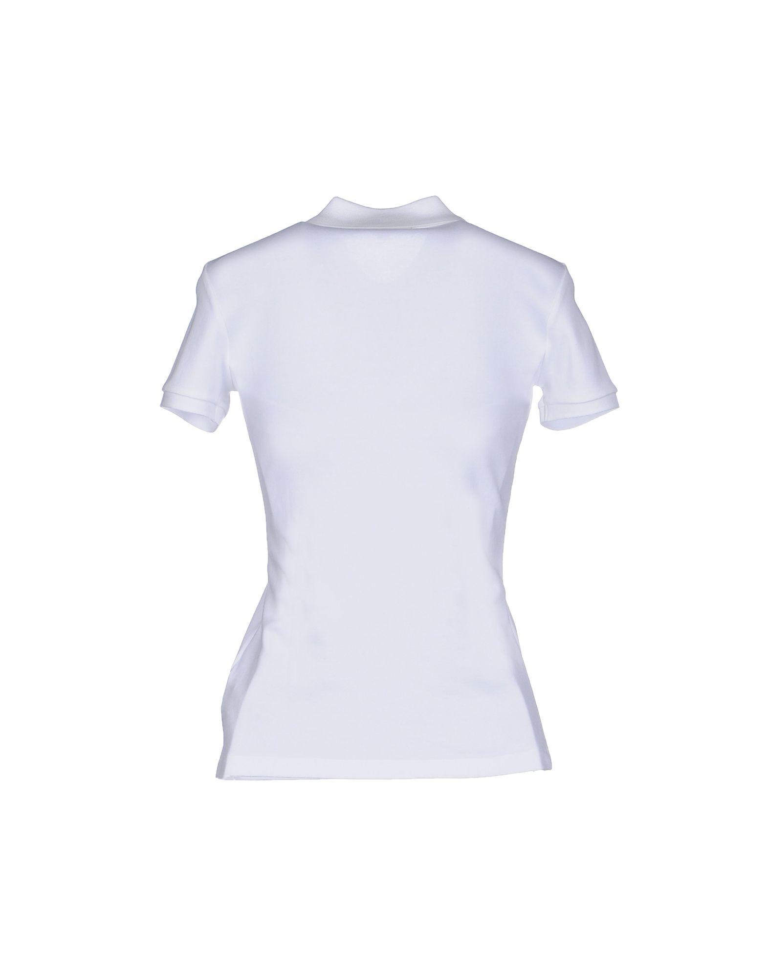 Ralph lauren black label polo shirt in white lyst for Ralph lauren black label polo shirt