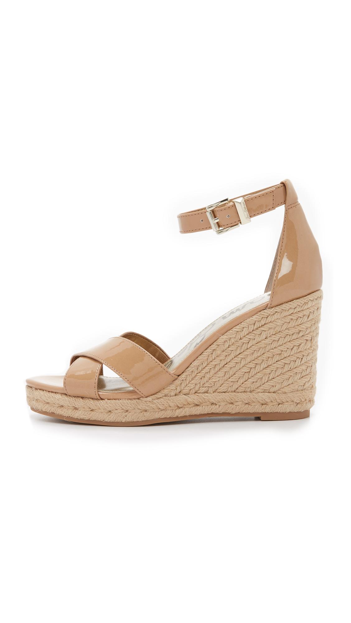 e96f33e8f700 Lyst - Sam Edelman Brenda Espadrille Wedge Sandals in Natural