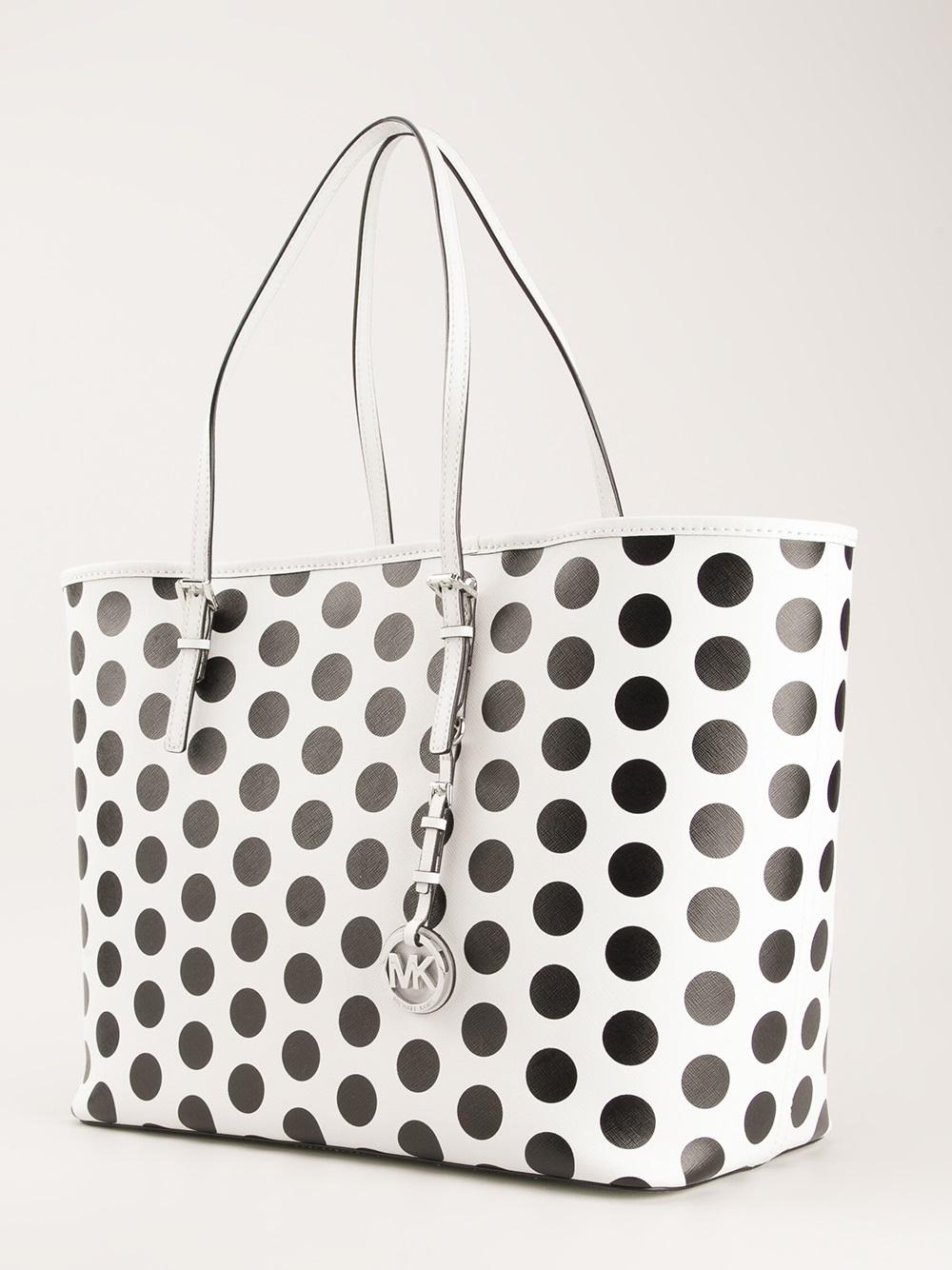 Michael Kors Polka Dot Tote Bag