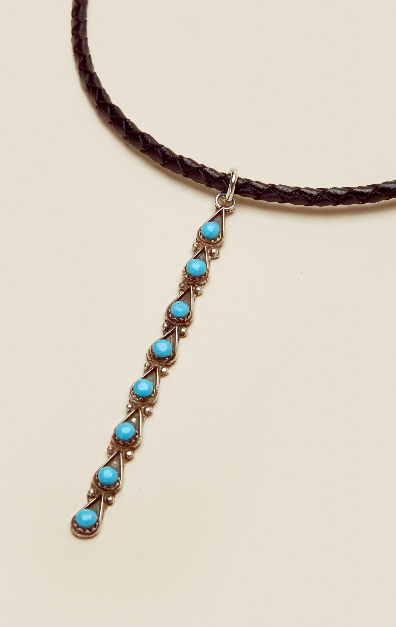 natalie b jewelry desert drop choker in black lyst