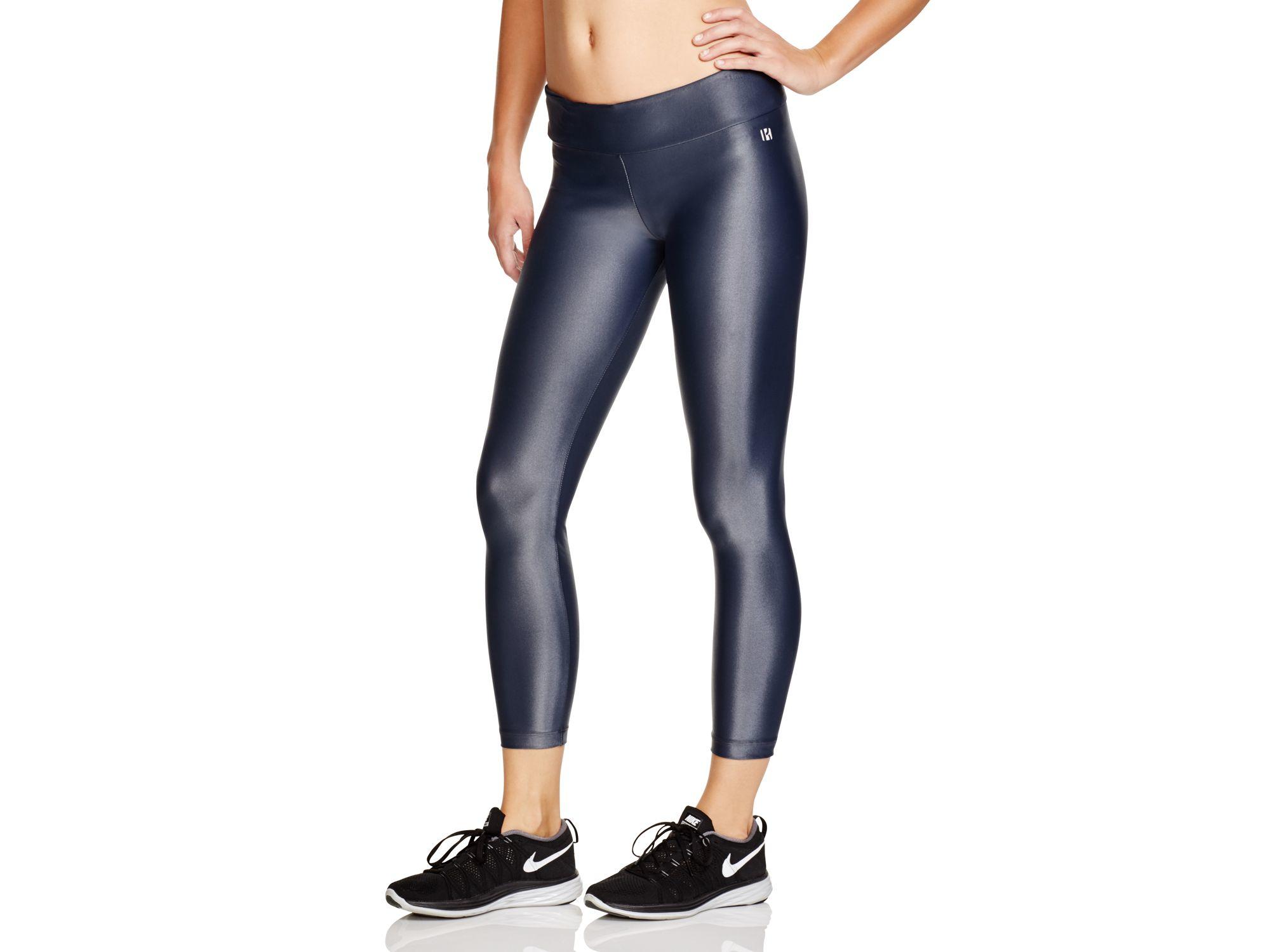 Koral activewear Lustrous Capri Leggings in Gray | Lyst