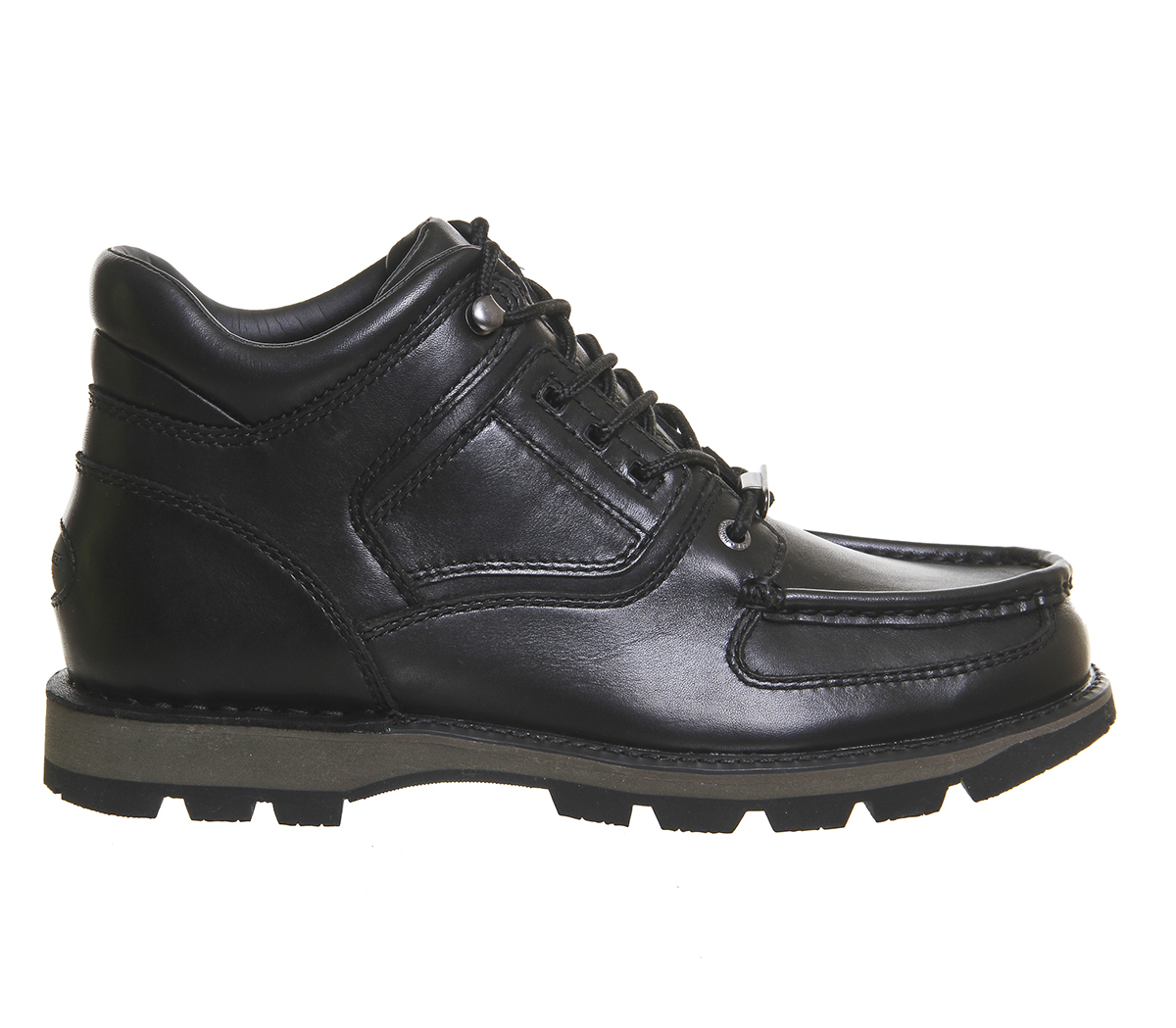 rockport umbwe boots in black for lyst
