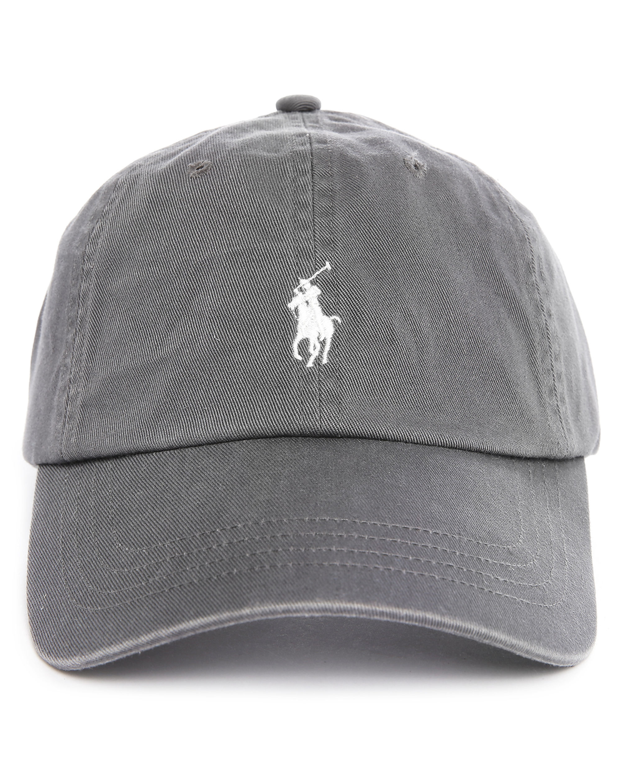 polo ralph lauren charcoal classic cap in gray for men lyst. Black Bedroom Furniture Sets. Home Design Ideas