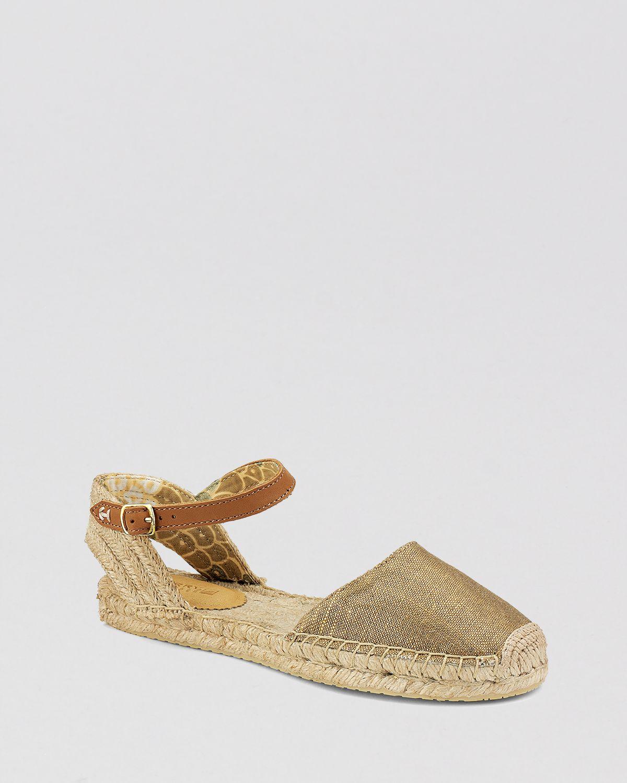 3d75320fcf2 Lyst - Sperry Top-Sider Flat Espadrille Sandals Hope in Metallic