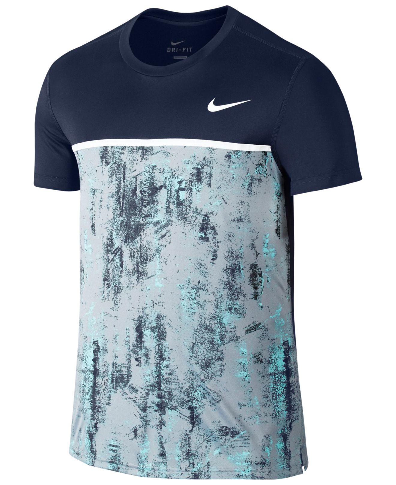 nike shirt navy blue