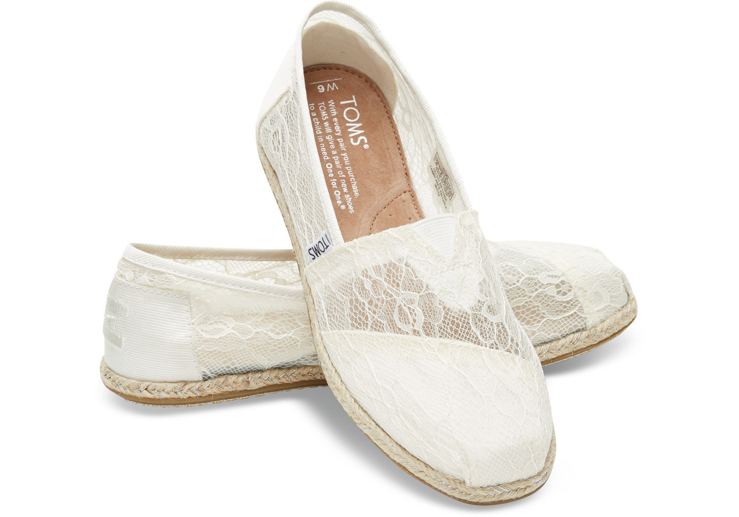 These TOMS Mint Blue Lace slip-ons are often referred to as Wedding Shoes. TOMS Kids' Alpargata-K. by TOMS. $ - $ $ 17 $ 51 65 Prime. FREE Shipping on eligible orders. Some sizes/colors are Prime eligible. 4 out of 5 stars