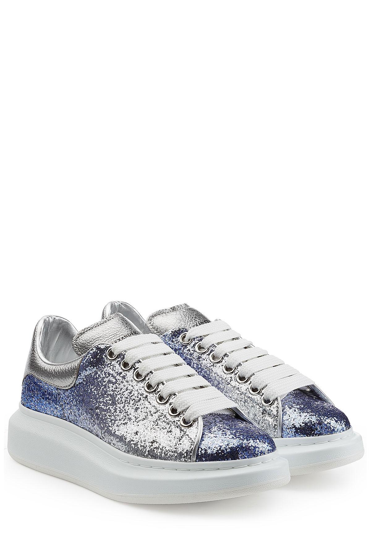 Glitter platform sneakers Alexander McQueen 3c75gse3C