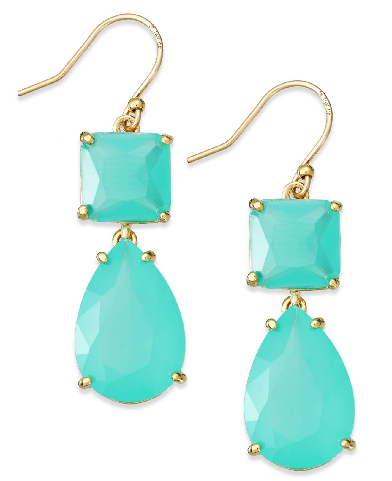 Kate Spade Turquoise Earrings Best All Earring Photos Kamiliol