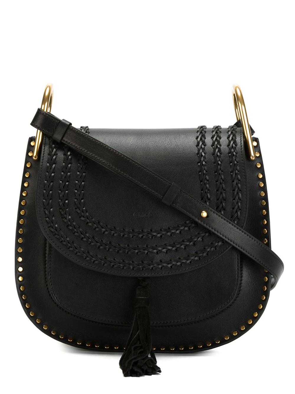 Chlo�� \u0026#39;hudson\u0026#39; Shoulder Bag in Black | Lyst