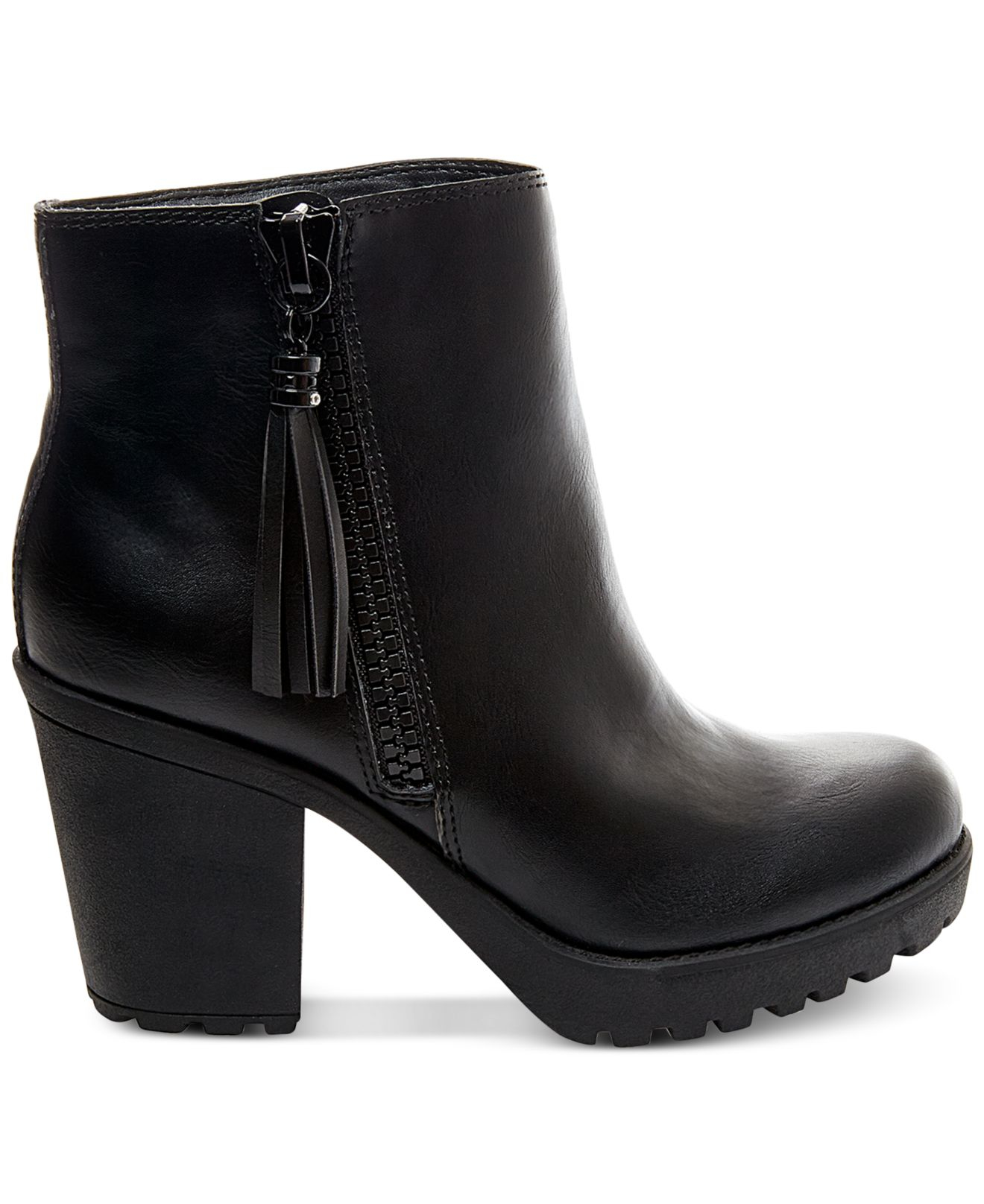 Milanoo offers you various choices for versatile and stylish women's ankle boots, booties and ankle boots no matter you are in jeans or flirty frocks. Ranging from hot black ankle boots or platform casual booties to lace up ankle boots to sexy high heels booties.