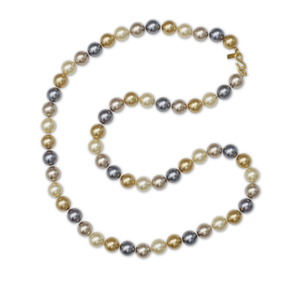 Kenneth Jay Lane 16 Multi Color Pearl Necklace Multi-color jHq8fsm