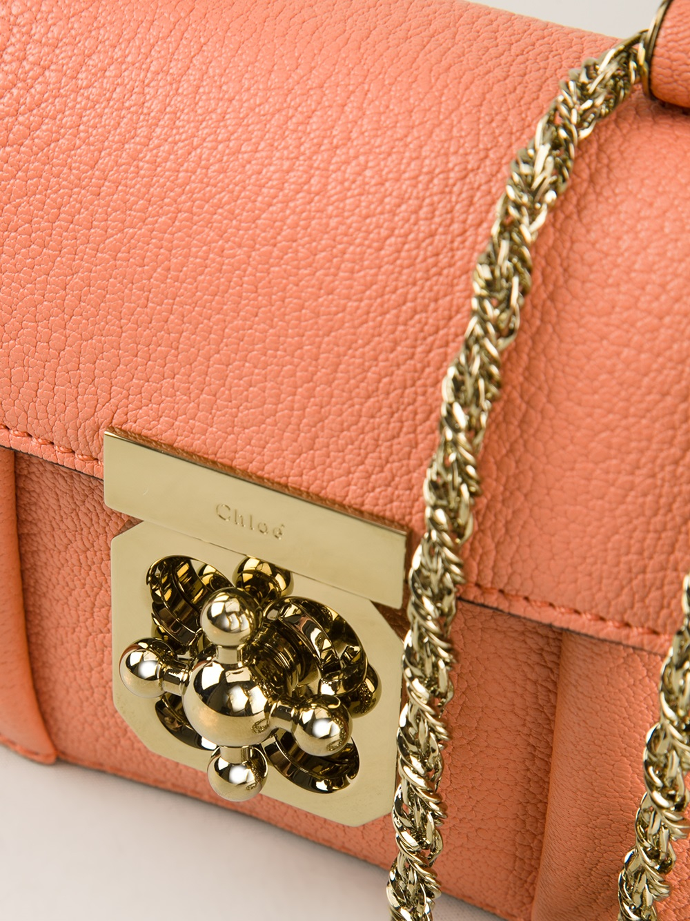Chlo 233 Mini Elsie Bag In Pink Lyst