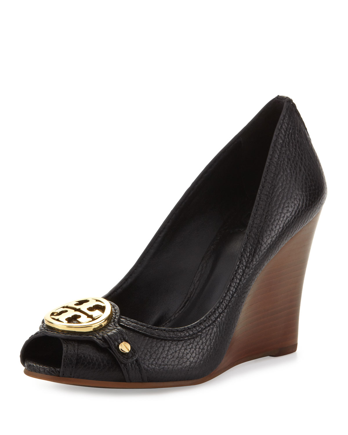 Tory Burch Black And White Shoes