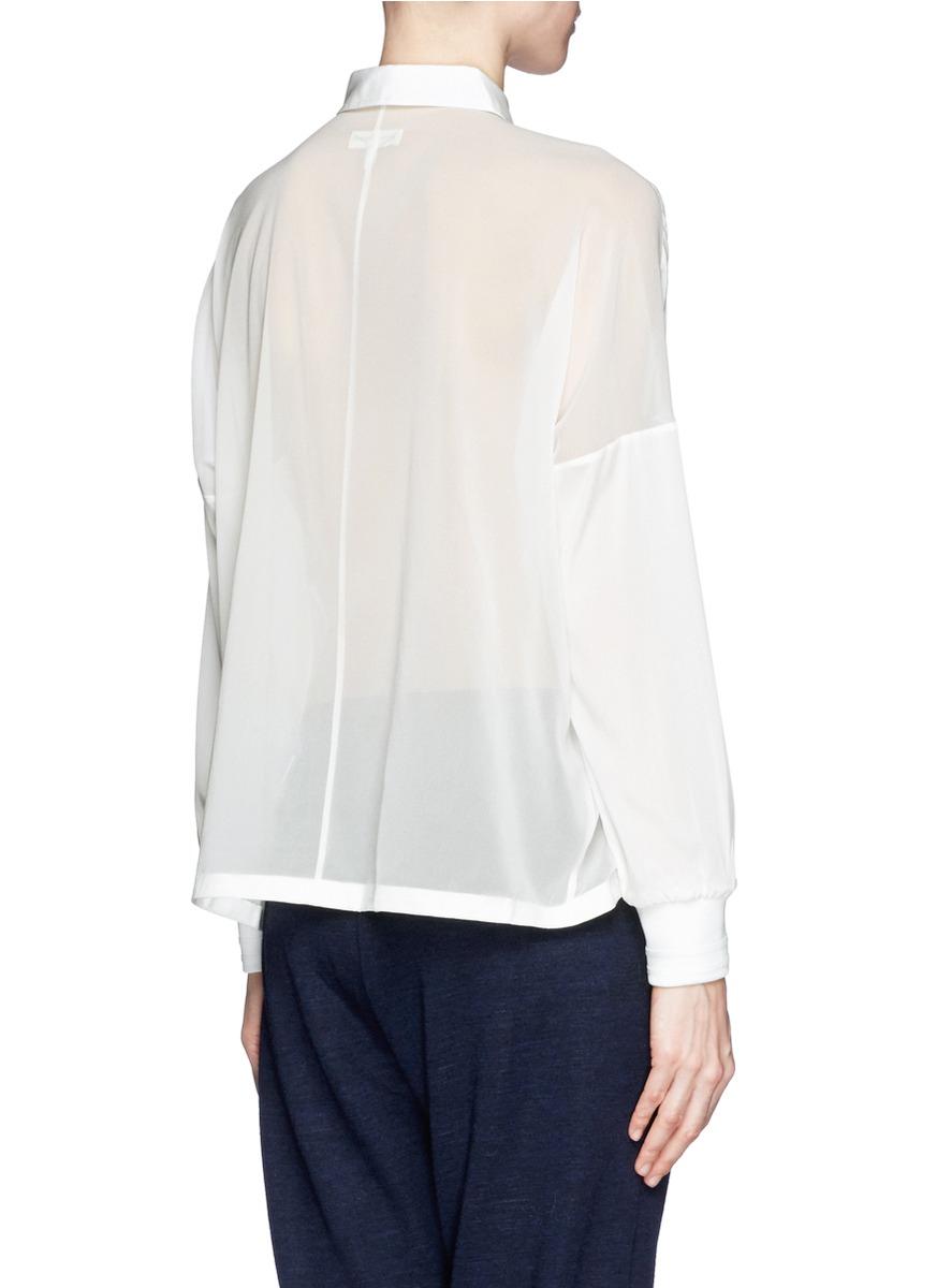 Lyst rag bone 39 phoenix 39 shirt in white for Rag bone shirt