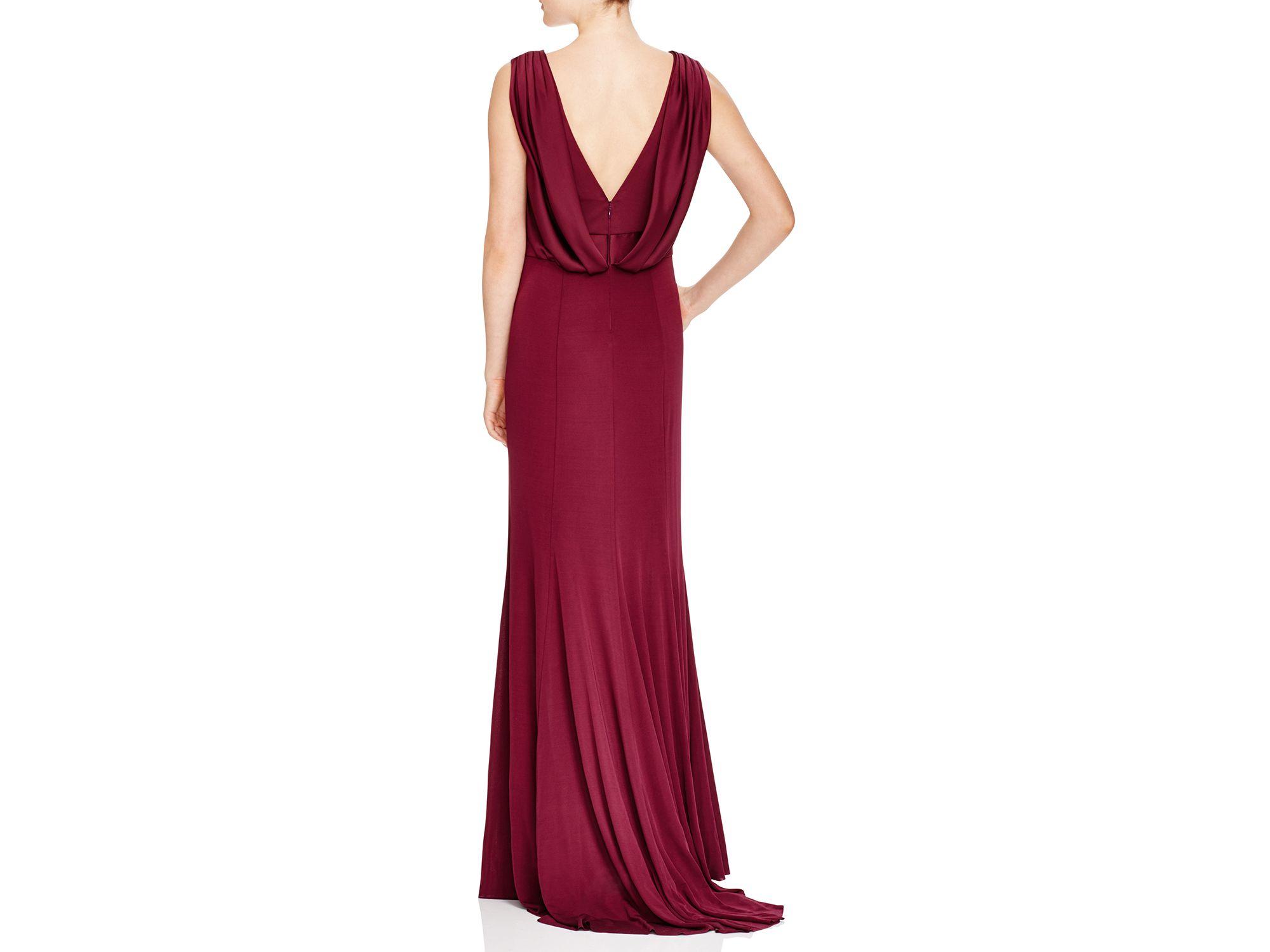 Red Vera Wang Evening Dresses