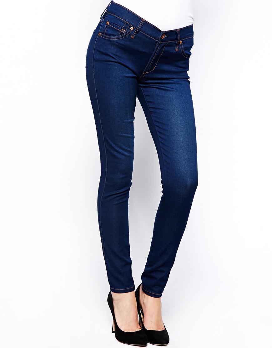 6f9fb60eb76f6 James Jeans Twiggy Super Skinny 5 Pocket Legging Jeans in Blue - Lyst