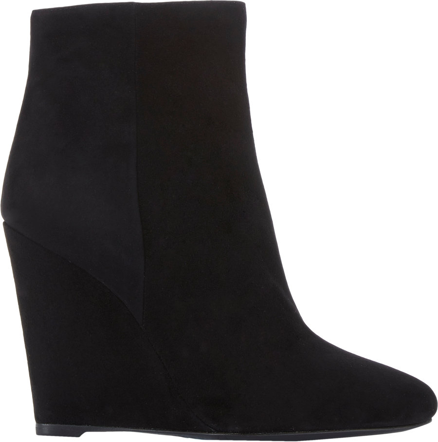 discount affordable under 50 dollars Prada Suede Wedge Ankle Boots free shipping discounts footlocker finishline online MBtvJ