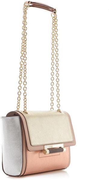 Diane Von Furstenberg 440 Metallic Leather Shoulder Bag 79