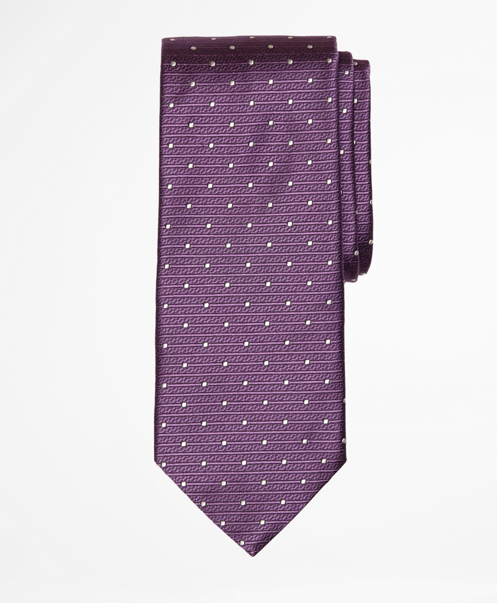 Lyst - Brooks Brothers Polka Dot Tie in Purple for Men