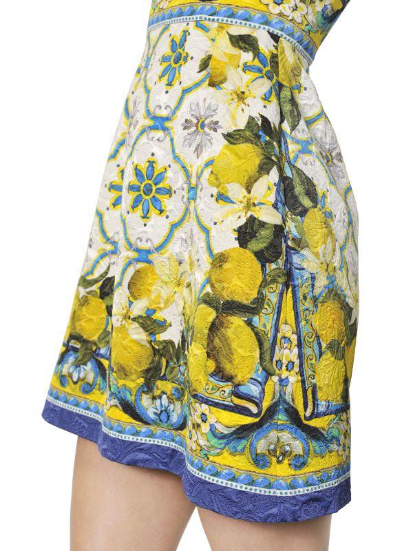7b7efe5b570 Dolce Gabbana Lemon Dress Replica