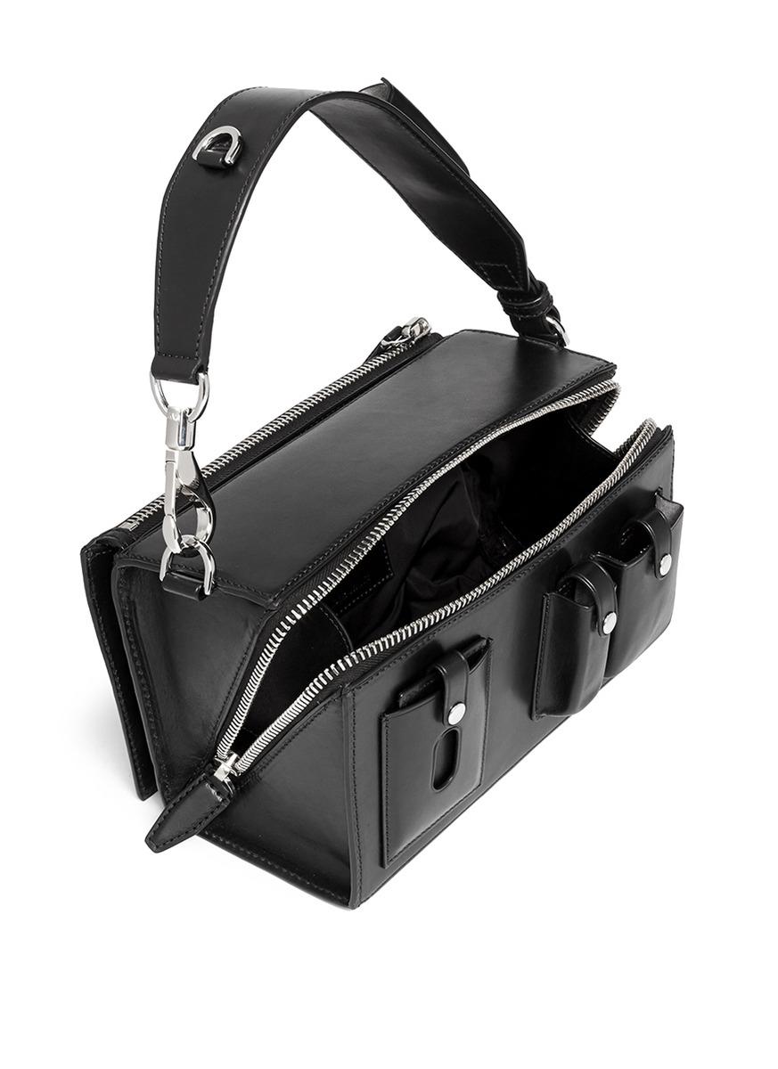 Alexander Wang Runway Survival Box Bag In Black Lyst