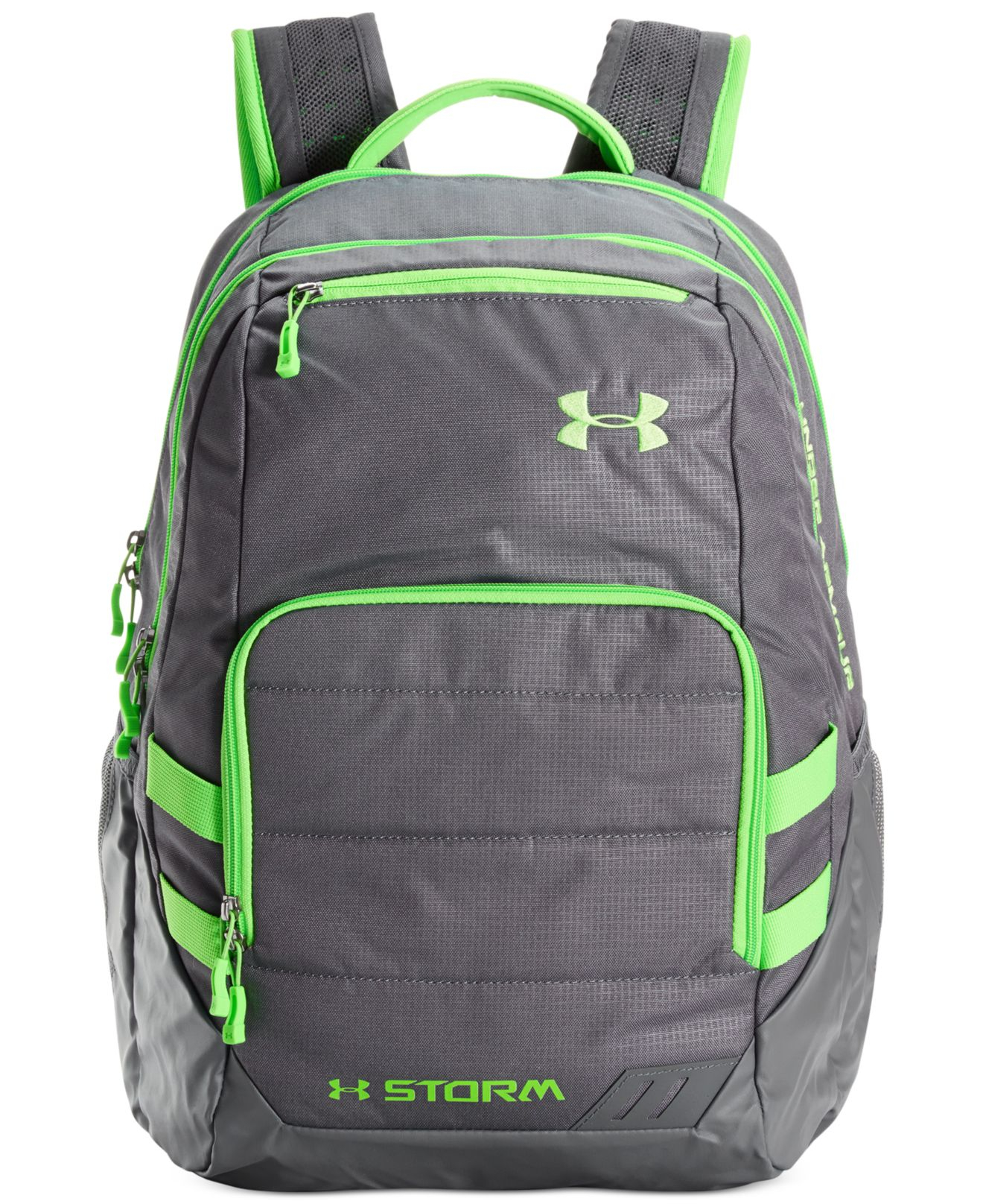 under armour camden backpack in gray for men lyst