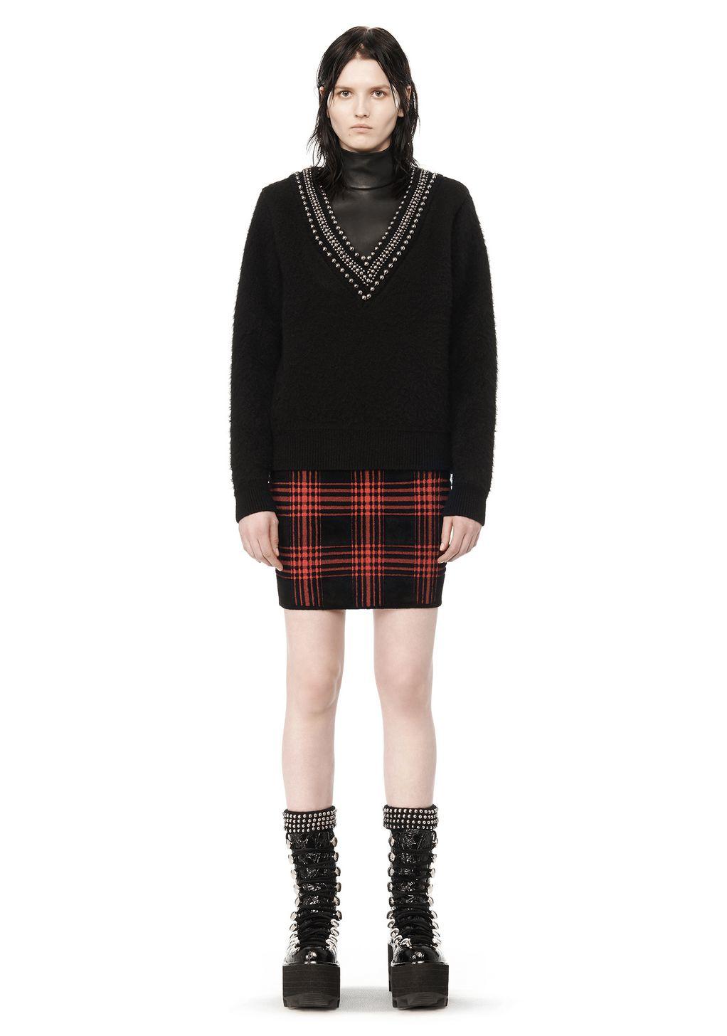 Plaid Red Skirt 16