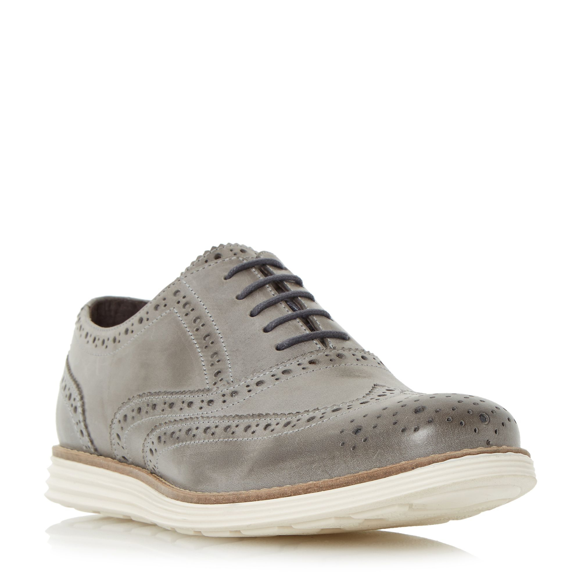 Lyst - Dune Bayside Wedge Shoes in Gray for Men