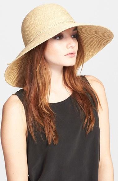 44eda0bf91d803 Helen Kaminski 'sage' Raffia Straw Hat in Natural - Lyst
