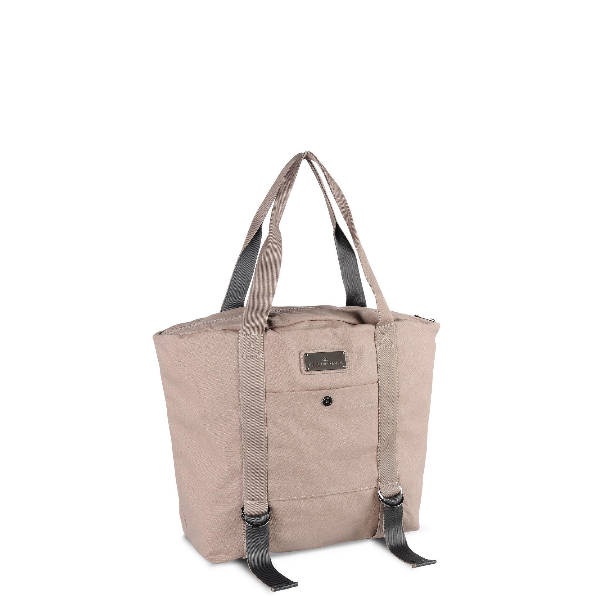 Lyst - adidas By Stella McCartney Cotton Yoga Bag in Natural 51859c8891