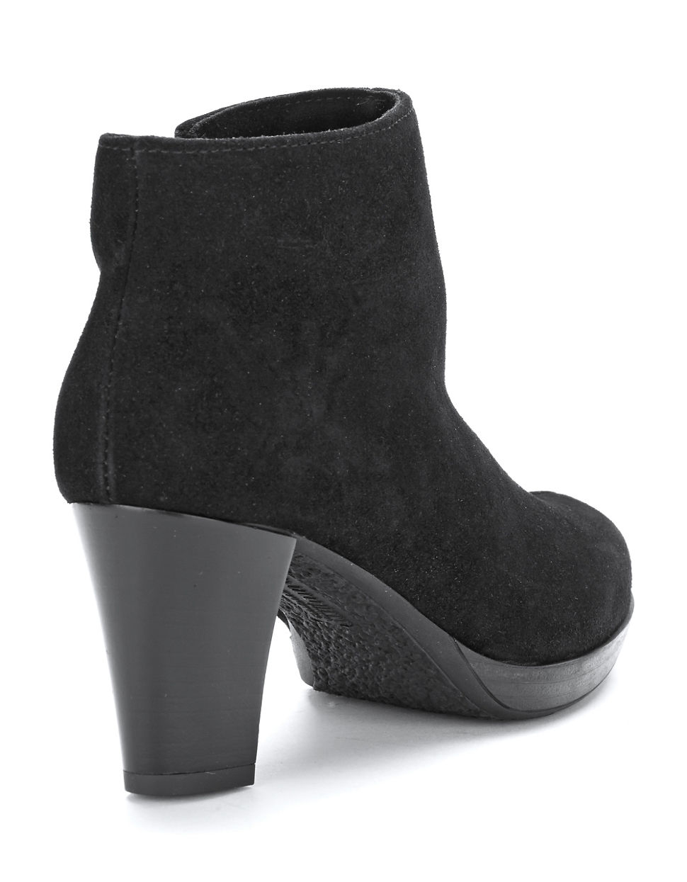 la canadienne olive waterproof suede boots in black lyst