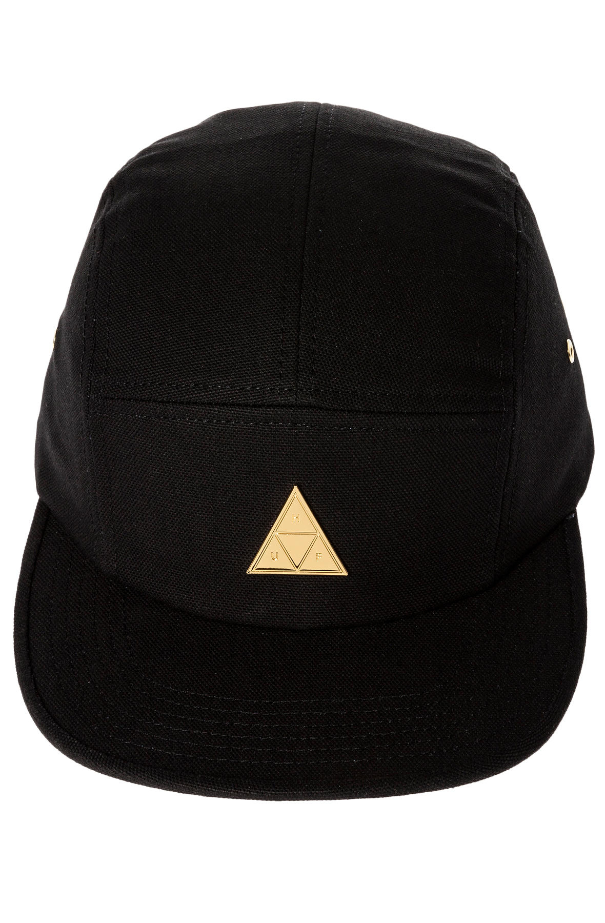 520f3926d69 Lyst - Huf The Metal Triple Triangle 5 Panel in Black for Men