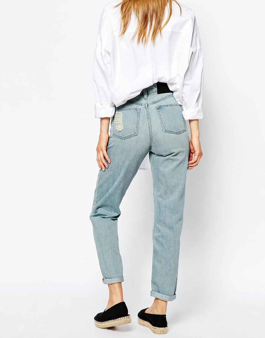 High Waisted Mom Jeans Cheap - Jeans Am