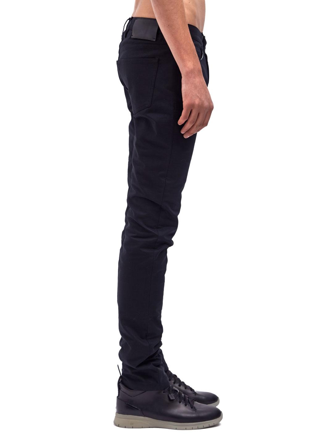 Lanvin Mens Skinny Fit 5 Pocket Jeans in Black for Men