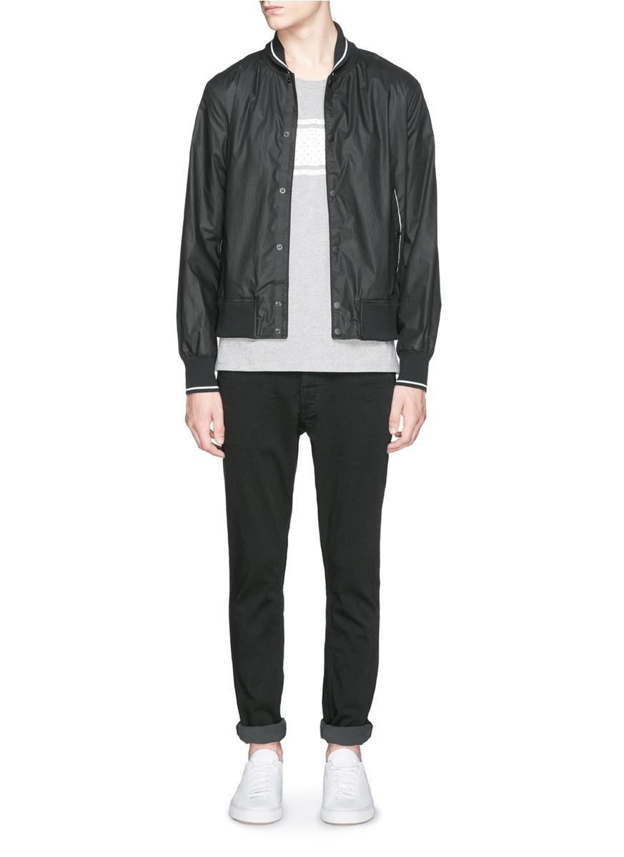 Denham Denim 'shank' Carrot Fit Jeans in Black for Men