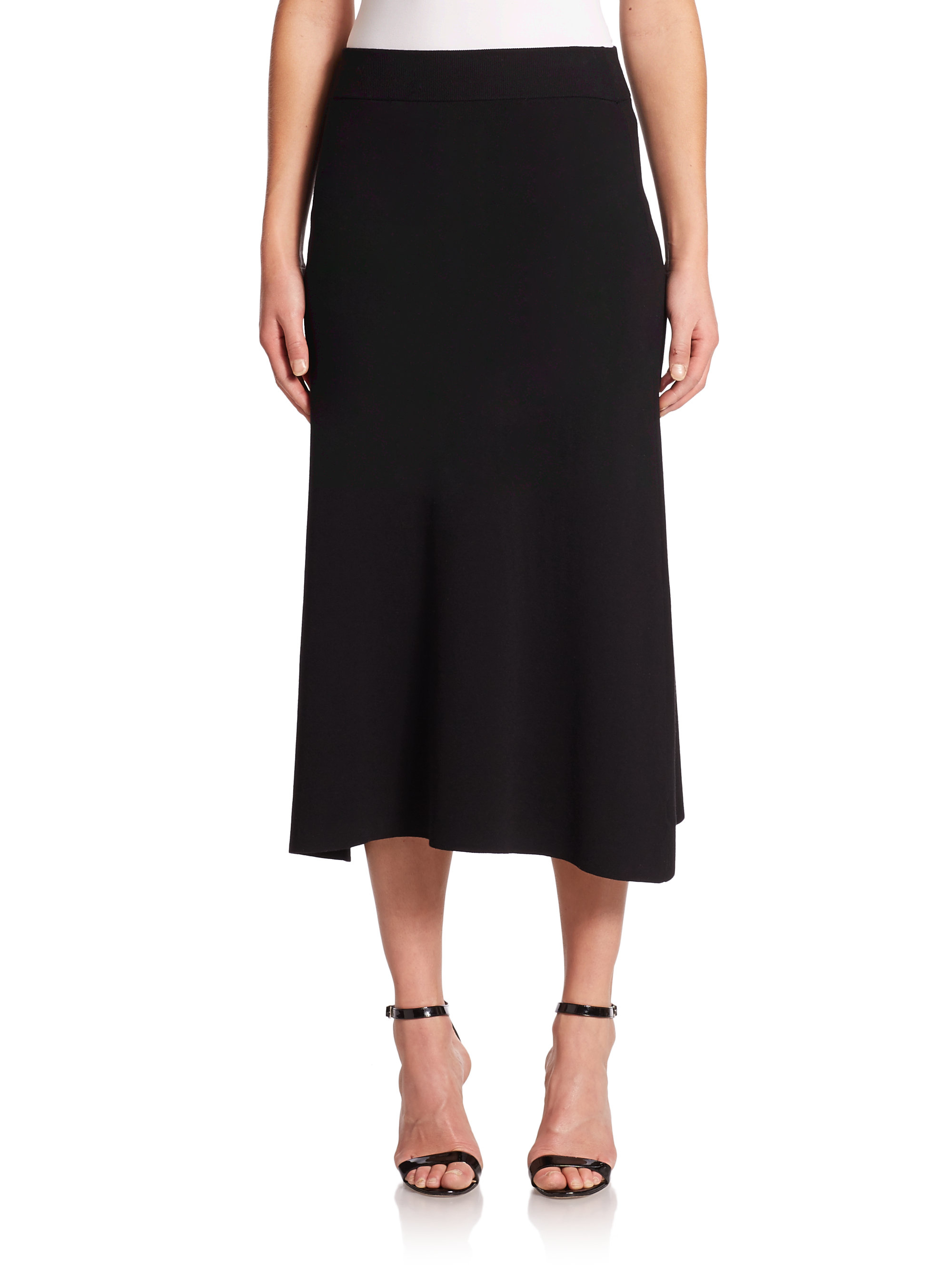 A.l.c. Fit-&-flare Cook Skirt in Black