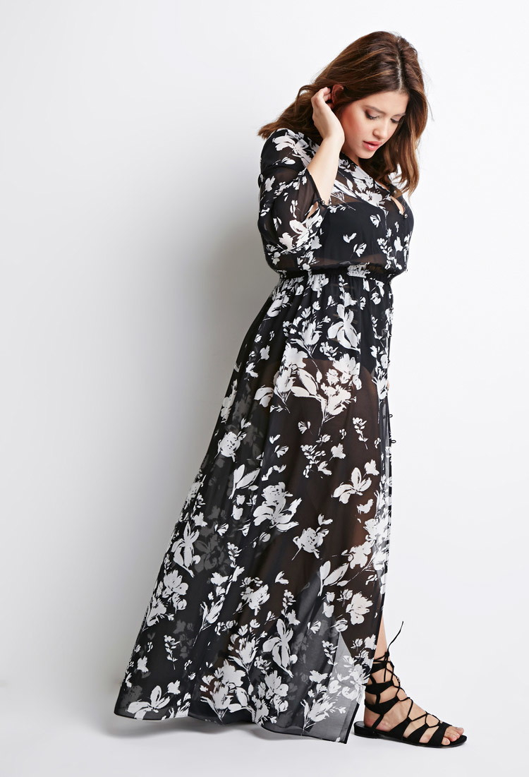 Plus Size Maxi Dress Forever 21