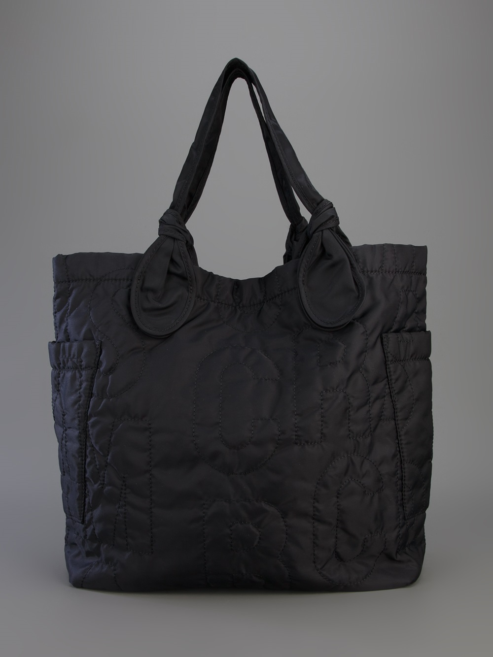 Marc By Marc Jacobs Padded Shopper Tote in Black