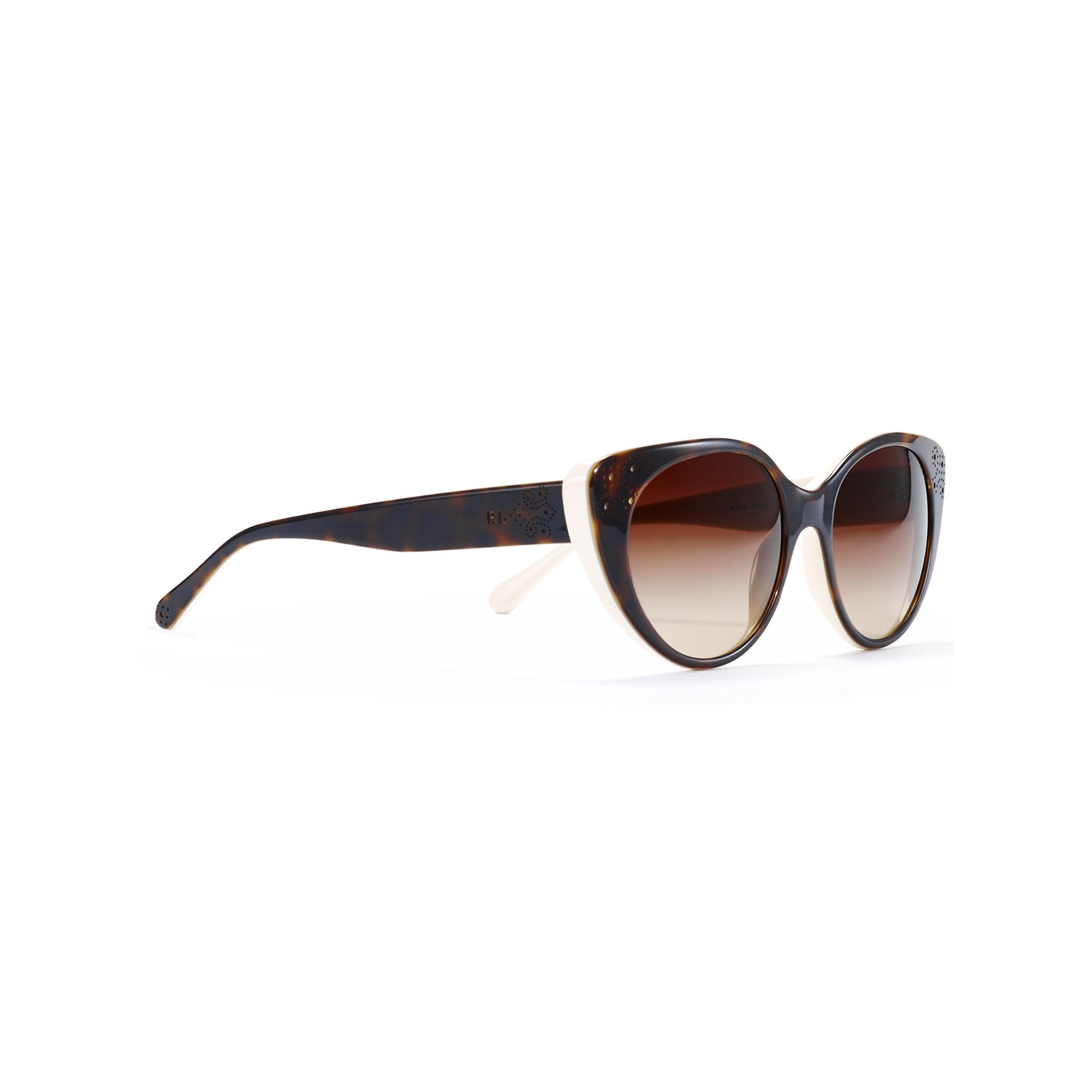 af360898237 Ralph Lauren Women s Polarized Cat Eye Sunglasses